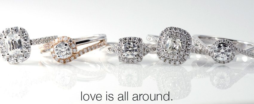Love is All Around - Engagement and Bridal